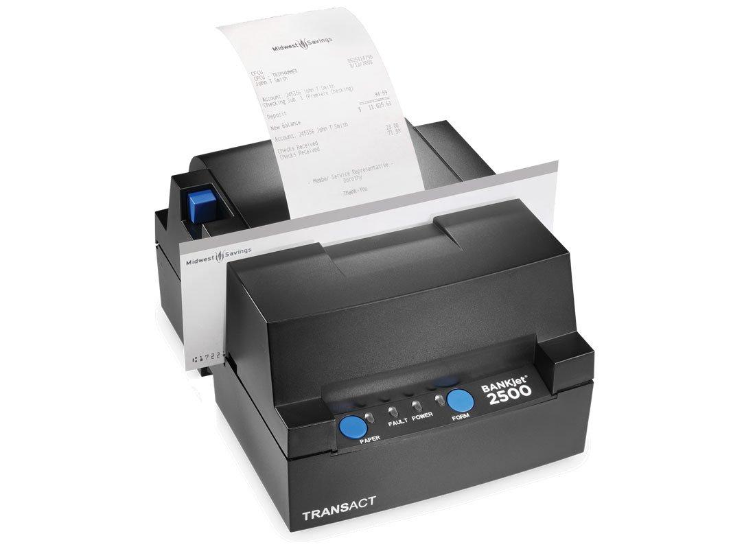 impresora de tickets botones azules 3