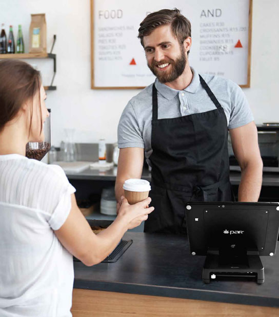 Barista con Tablet 8